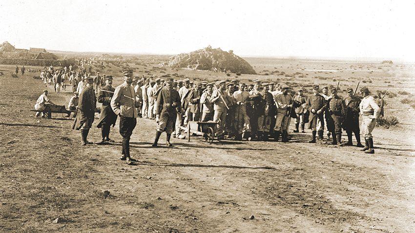 Guerre 1914-1918. Prisonniers allemands au Maroc.     BRA-101129