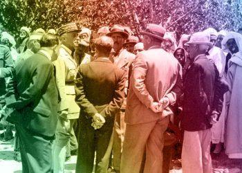 صرح المقيم العام نوجيس أثناء زيارته لمكناس بأنه مصمم على الضرب بقوة على أيدي المشاغبين.